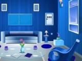 Blue Living Room Escape