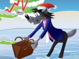flash игра Nu Pogodi: Christmas game