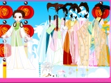 China Model Dress Up