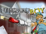 flash игра Newspaper Boy