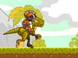 flash игра Crazy Raptor Rider