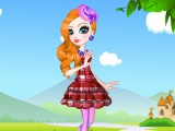 Reale di Apple White Dress up