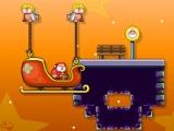 flash игра Santa run 2