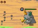 flash игра Tiny monsters war