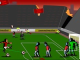 flash игра Zombie football: Death penalty