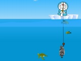 flash игра Doraemon fishing