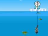 flash игра Doraemon fishing