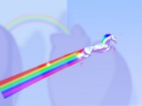 flash игра Robot unicorn attack
