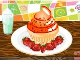 Pink muffin