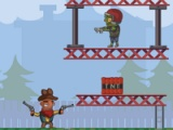 flash игра Gun, zombie, gun
