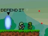 flash игра Defence of the portal 2