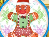 flash игра Christmas Gingerbread Cookies