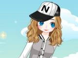 flash игра Baseball girl