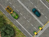 flash игра Timber lorry driver 2