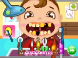 Baby at the dentist