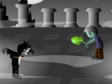 flash игра Dracula vs zombies