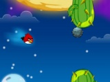 flash игра Angry birds: Space