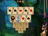 flash игра Rainforest solitaire