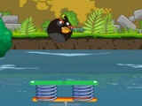 flash игра Angry birds: Jungle party