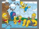 flash игра Simpsons: Puzzle