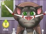 Talking Tom: Nose doctor