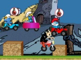 flash игра Smurfs: Fun race 2