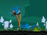 flash игра Angry birds of Rio