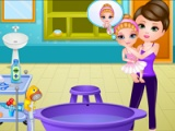 flash игра Baby Barbie: Ballet Injury