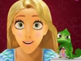 flash игра Rapunzel eye doctor