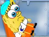 Baby SpongeBob got flu