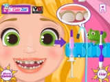 flash игра Rapunzel: Rotten teeth