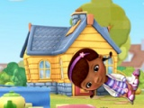 flash игра Doc Mcstuffins: Kick up