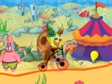 flash игра Spongebob Circus Ride