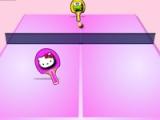 flash игра Hello Kitty: Table tennis