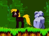 Derpy looking for gems Spike