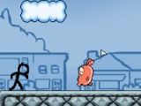 flash игра Stickman: flow adventures