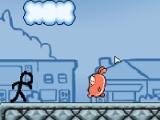 flash игра Stickman: flow adventures