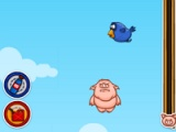 flash игра When hogs fly