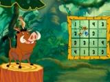 flash игра Timon & Pumba's sudoku