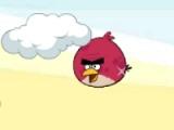 Angry birbs. Jumping