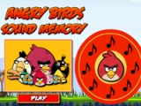 Angry birds. Sound memory
