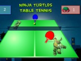 Ninja Turtles. Table tennis