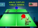 flash гра Ninja Turtles. Table tennis