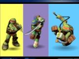 Ninja turtles. Colours memory