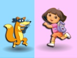 flash игра Dora. Colours memory