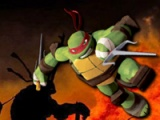 flash игра Ninja Turtles. Kick up