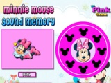 flash игра Minnie Mouse. Sound memory