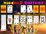 flash игра Dragon Ball Z. Solitaire