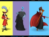 Disney villians. Colours memory