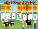 flash игра Phineas & Ferb. Solitaire